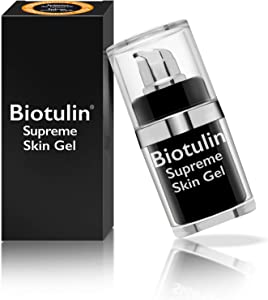 Biotulin Supreme Skin Gel - 15ml - Serum facial antiarrugas para mujer y hombre - Ácido Hialuronico - Ingredientes Antiedad y Antiarrugas