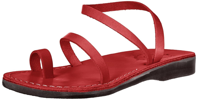 Jerusalem Sandals Women's Ella Sandal B075LDQZH8 42 Medium EU (11-11.5 US)|Red