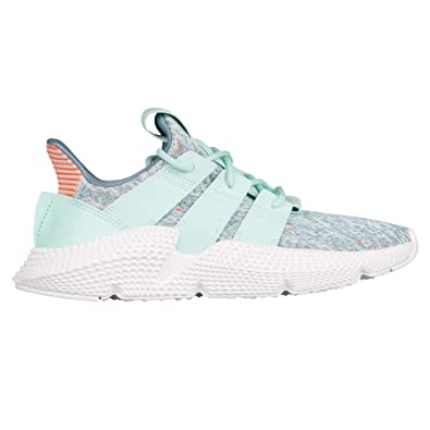 ab78994bb45fdc adidas Prophere Womens in Clear Mint Solar Red