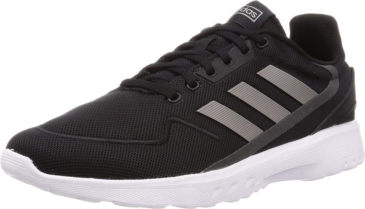 adidas Nebzed Sneakers Herren schwarz m. grauen Streifen