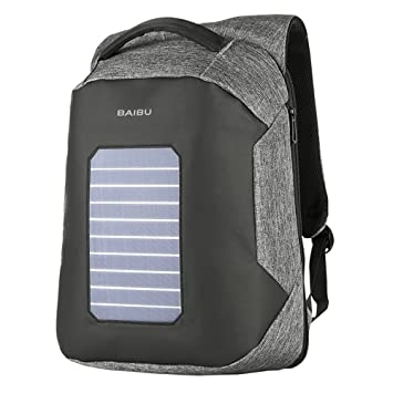 Amazon.com: Solar de 5,3 W mochila solar, Poly materiales ...