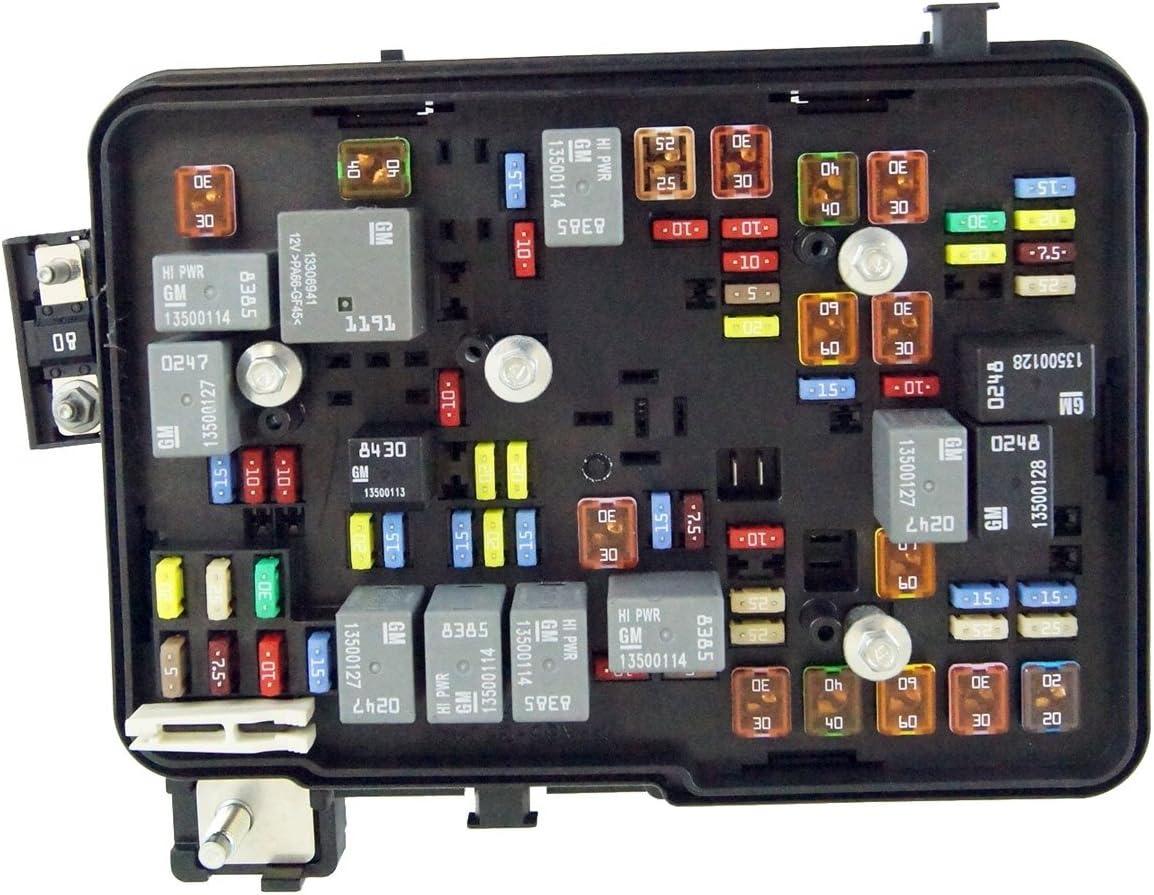 Amazon.com: 2011-2012 GMC Terrain Equinox 2.4L Engine Compartment Fuse  Block Box Relays: AutomotiveAmazon.com