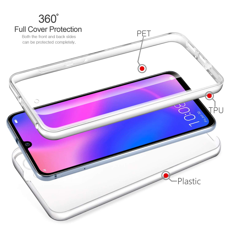 coque huawei p30 pro transparent silicone 360