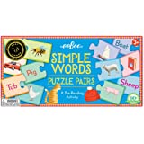 eeBoo Simple Words Puzzle Pairs Matching Game