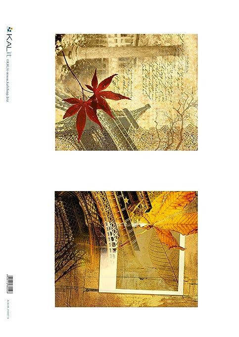 Accademia del Decoupage 32 x 45 cm carta di riso, Vintage Viaggio a ...