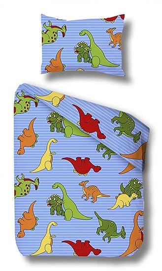 Schnullerbacke Dino Kinder Biber Bettwäsche In Der Größe 135x100