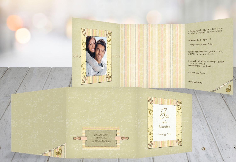 Kartenparadies Hochzeitskarte Hochzeit Einladung Bund für's Leben, hochwertige Einladung zur Heirat inklusive Umschläge   10 Karten - (Format  145x145 mm) Farbe  PastellHellTürkis B01MUCV2XT | Bestellung willkommen  | Feinen Qualität  | I
