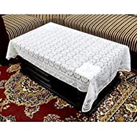 Kuber Industries Cotton 4 Seater Centre Table Cover