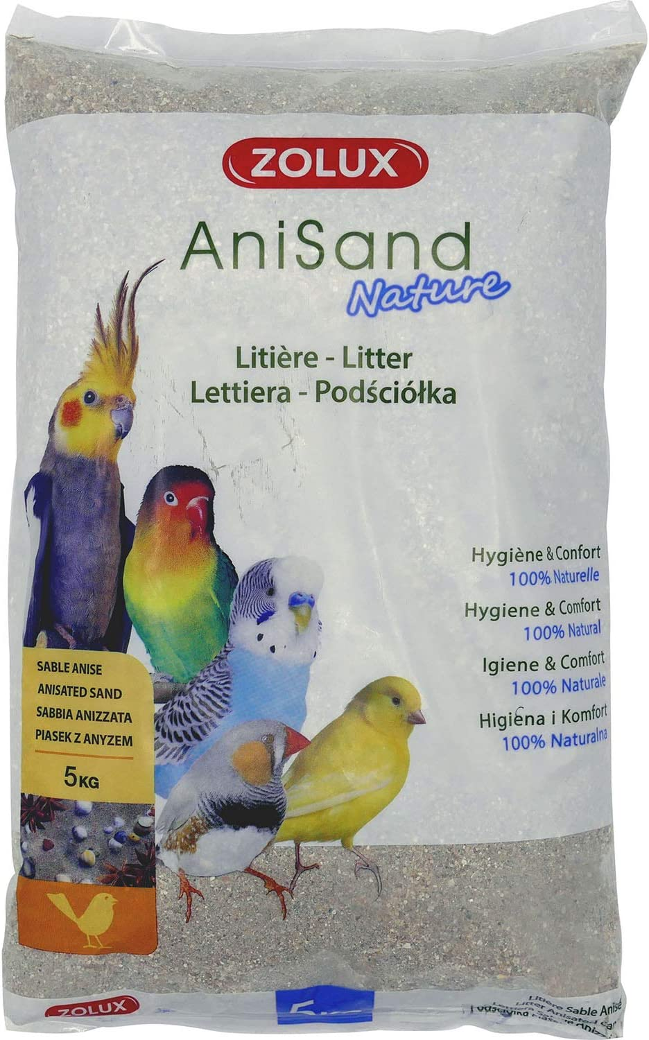 Zolux ANISAND Nature 5KG