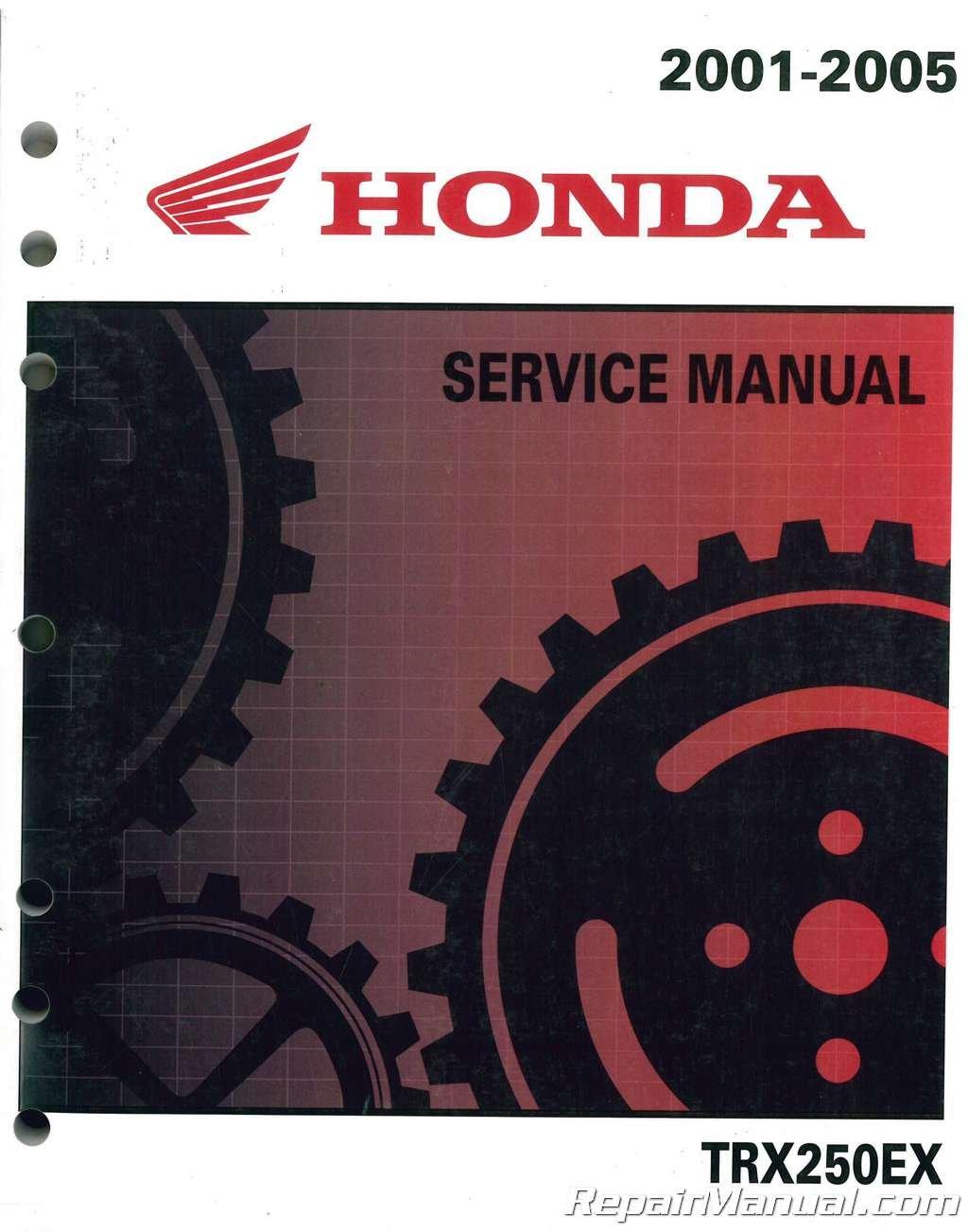 61HN604 2001-2005 Honda TRX250EX ATV Service Manual Paperback – 2004