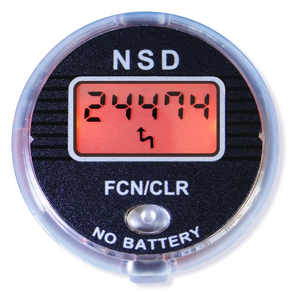 NSD Power Digital LCD Speedometer SM-02 for use with NSD Gyroscopic Spinner by NSD Power