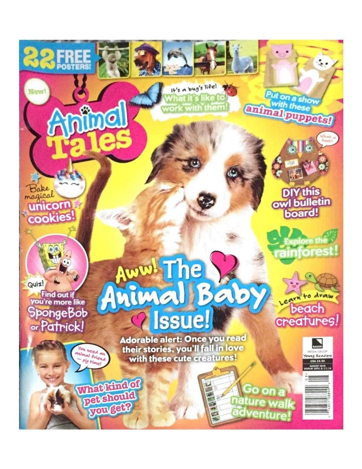 ANIMAL TALES MAGAZINE, AWW! ANIMAL BABY ISSUE