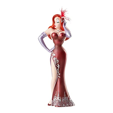 Enesco Disney Showcase Collection Couture de Force Jessica Rabbit Figurine, 8.67 Inch, Multicolor