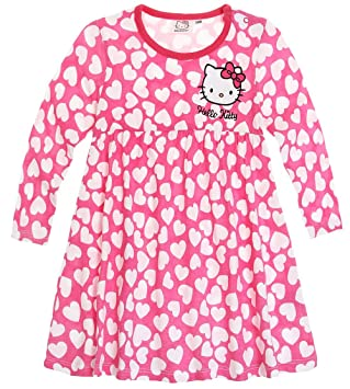 Free robe manches longues bb fille hello kitty roseblanc de mois mois with robe de chambre hello - Robe de chambre hello kitty ...