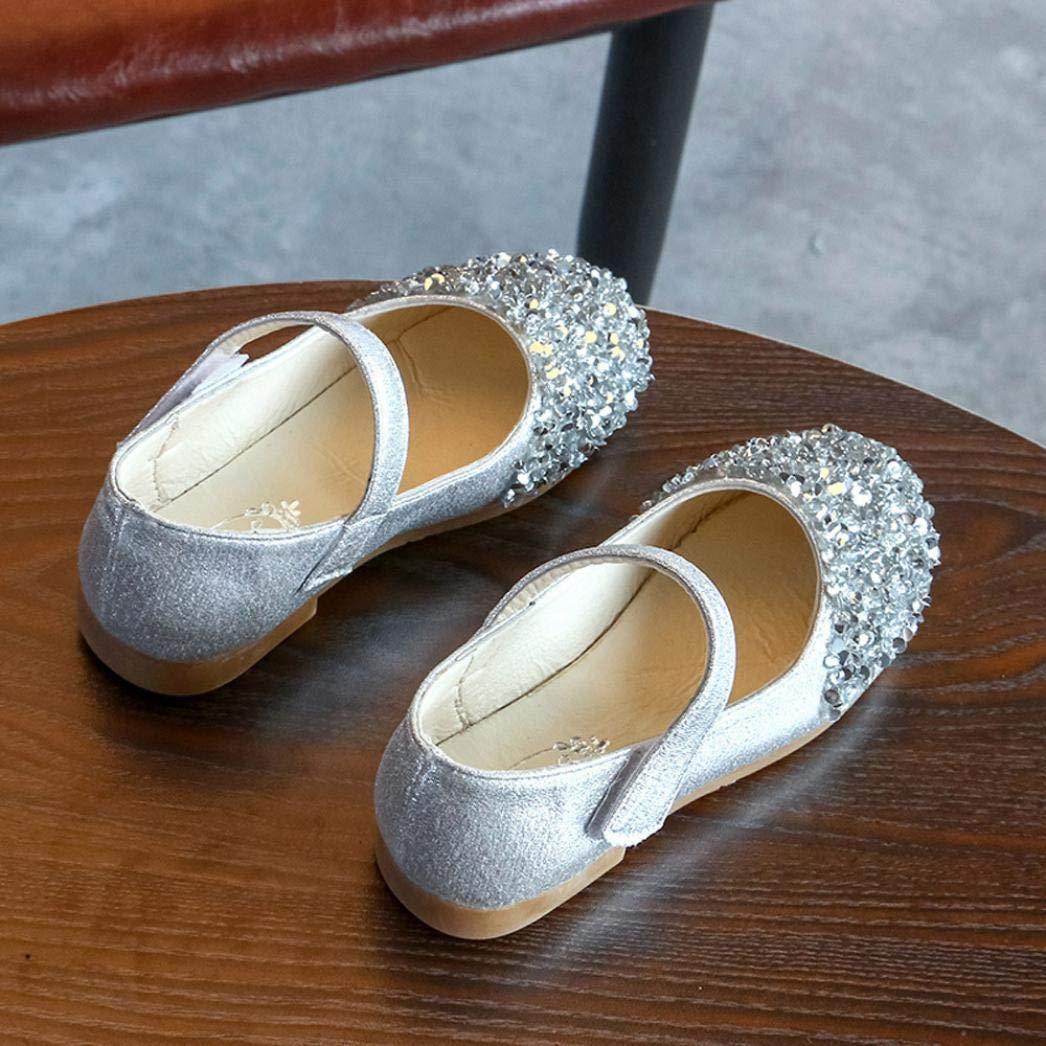fb693de22 Zapatos para Niñas Otoño Invierno 2018 Moda PAOLIAN Calzado de Bailarinas  Danza Suela Blanda Antideslizante Zapatos ...
