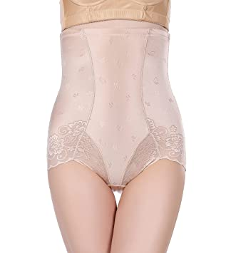 1549bf690a Ultra-thin High Waist Women Thin Body Slimming Corset Shapewear-Apricot-XL   Amazon.co.uk  Health   Personal Care