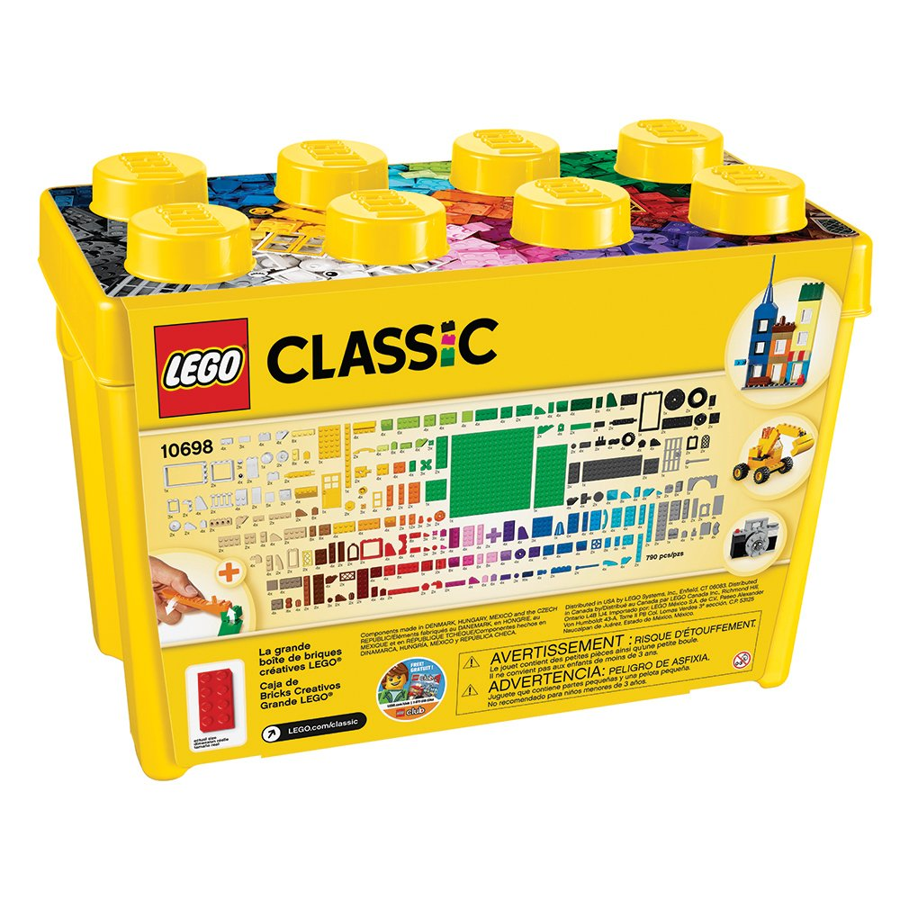 Amazoncom LEGO Classic Large Creative Brick Box Toys Games - 16 imaginative lego ads that celebrate the power of fantasy 2