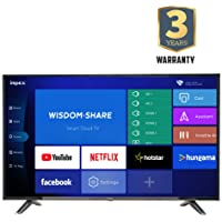 Impex 114 cm (45 Inches) Full HD Smart LED TV GLORIA 45 SMART (Black) (2019 Model)