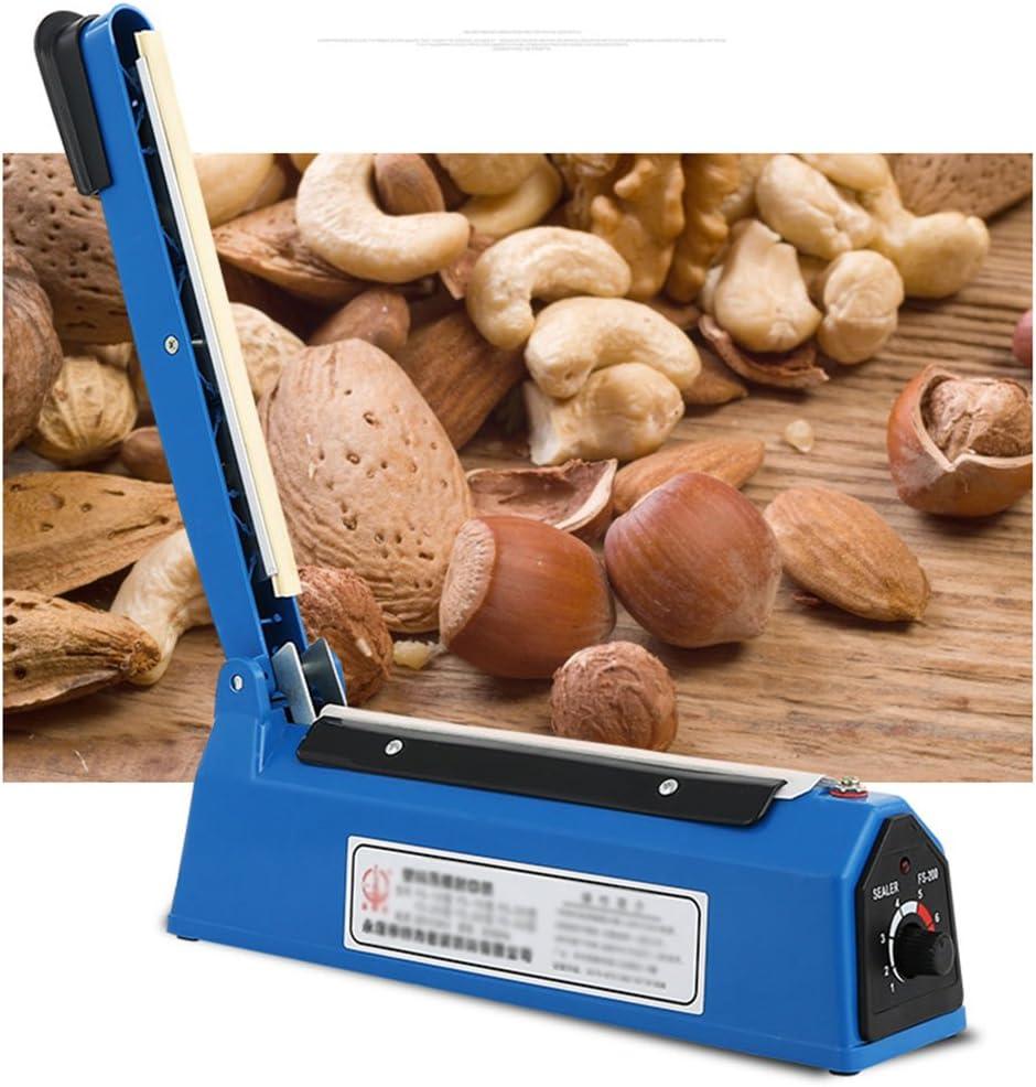 Sigillatore Per Alimenti Alta Qualit/à Sottovuoto Per Sacchetti Plastica BVC Macchina Sigillante A Caldo 300Mm