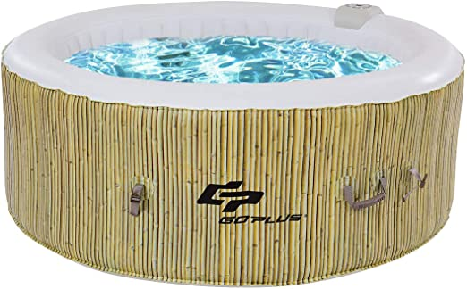 COSTWAY Whirlpool Masaje SPA Piscina √ Hinchable √ Función ...