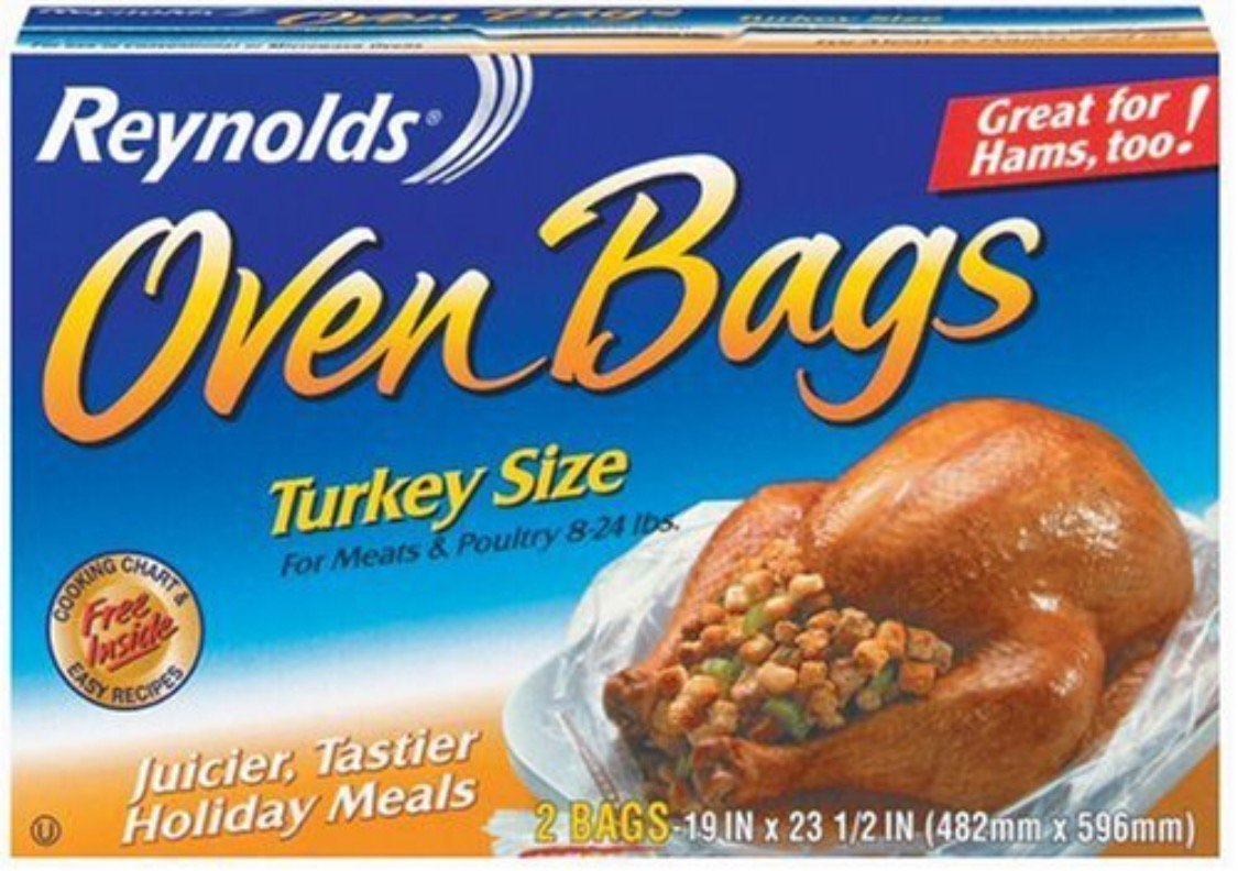 REYNOLDS TURKEY BAGS (Pkg of 4-2 packs, 8 Total)