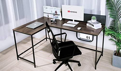 WOHOMO L Shaped Corner Desk Large Computer Desk