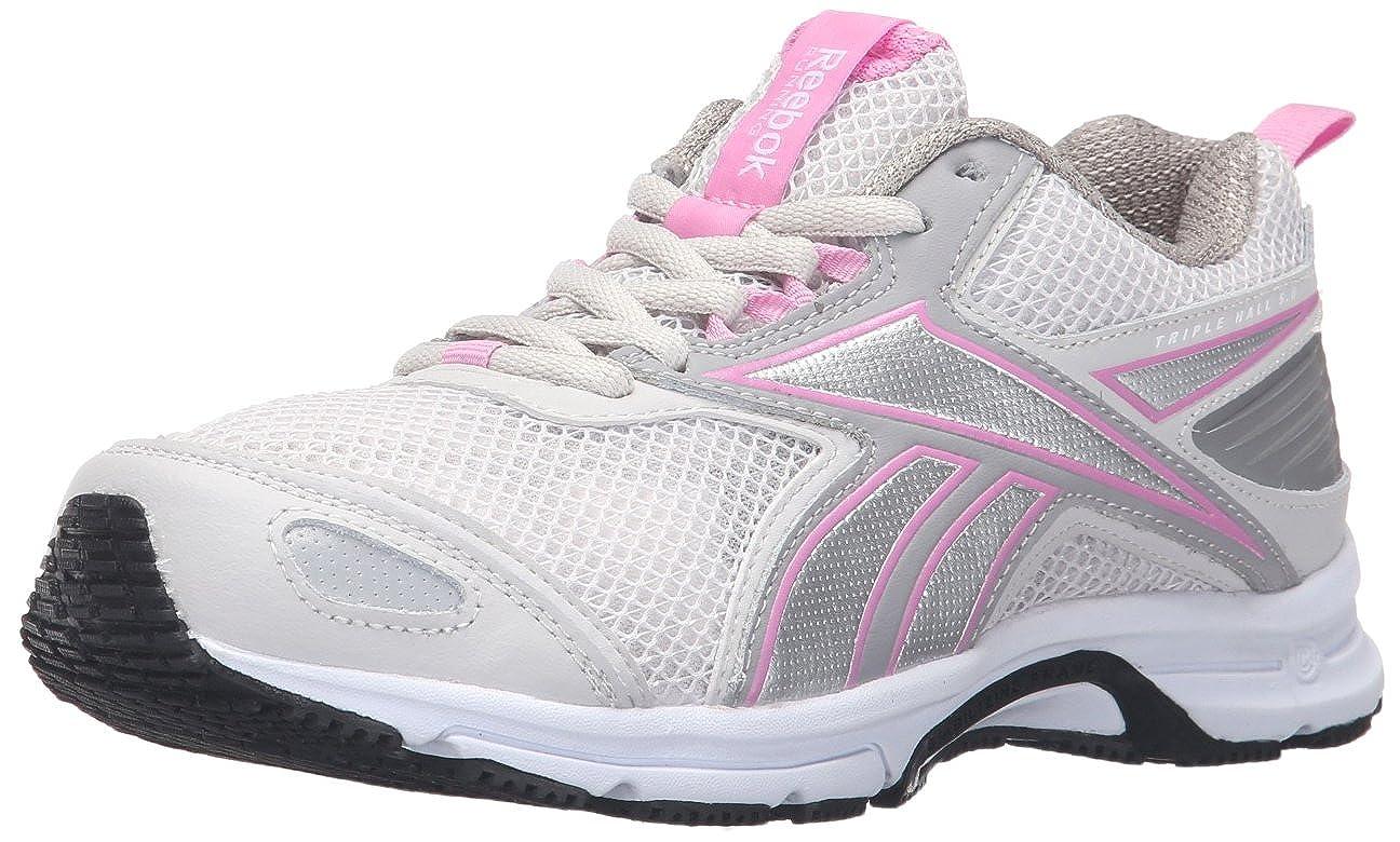 Reebok Womens Triplehal Fabric Low Top Lace Up Running Sneaker