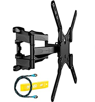 Invision® - Support Mural TV Double Bras – Fixation Murale Orientable  Inclinable Pivotant - Pour 51dd8102ac24
