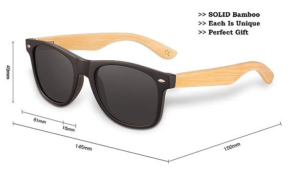 Amazon.com: Gafas de sol de madera personalizadas para hijo ...