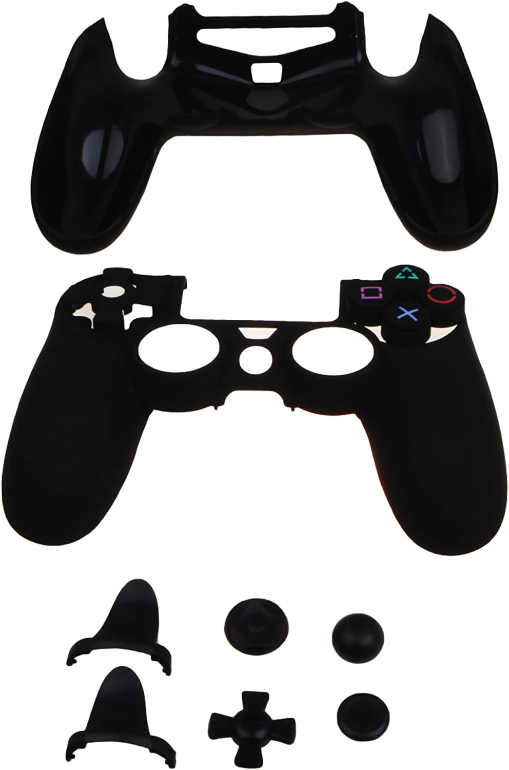 MXRC ULTRA ARMOR GEAR FPS Case Cover Shell for PS4 Controller Black