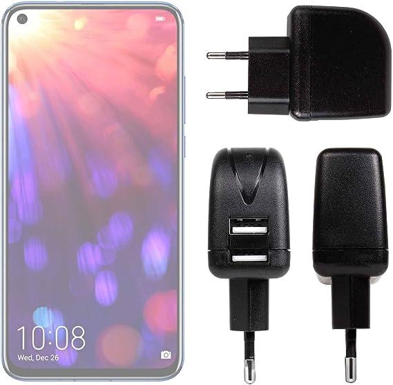DURAGADGET Cargador con Enchufe Europeo para Smartphone Honor View ...