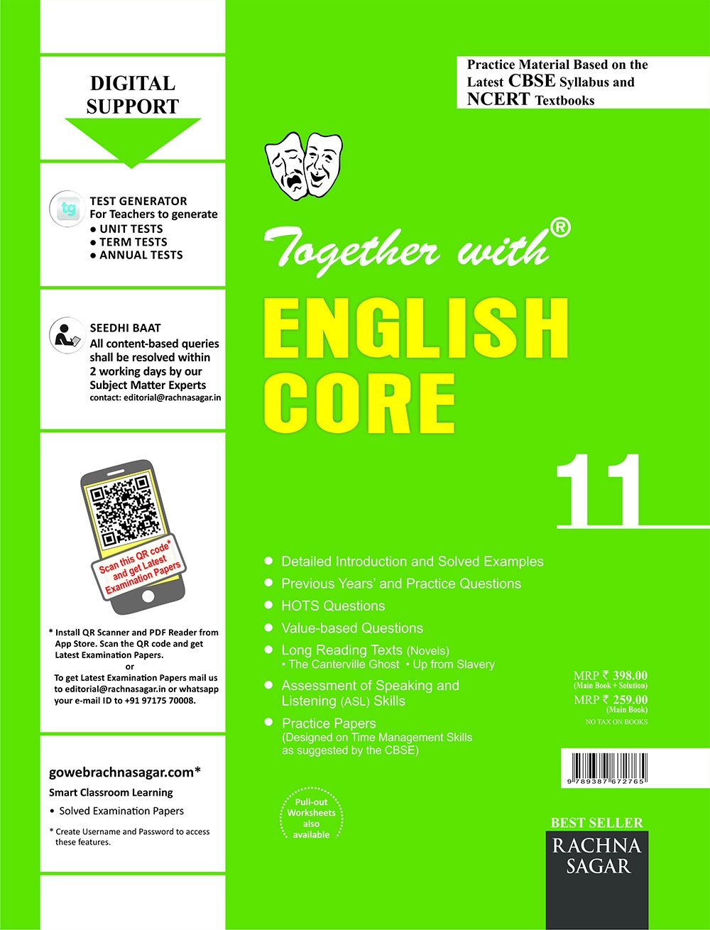 Together with CBSE/NCERT Practice Material Chapterwise for