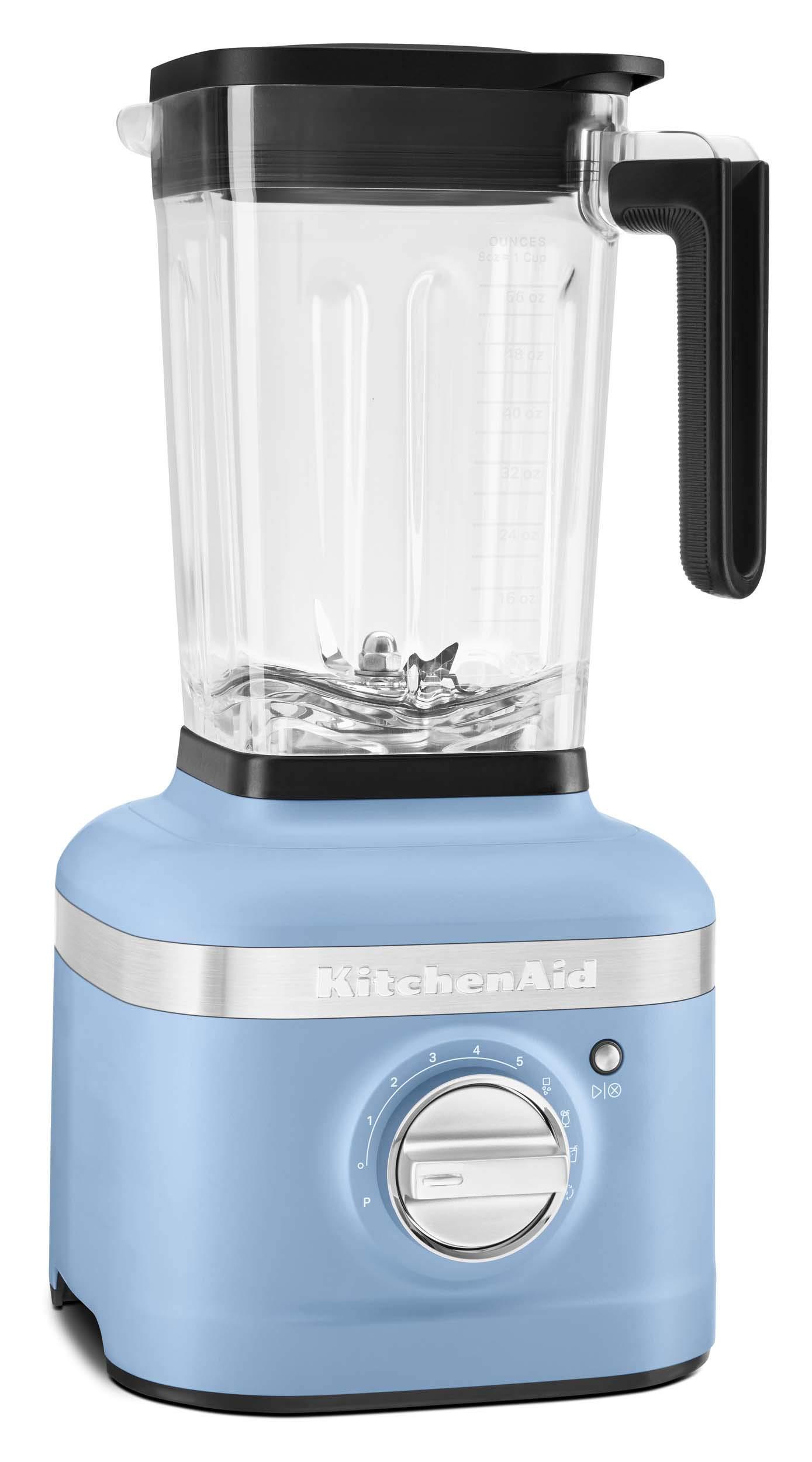 KitchenAid KSB4027VB K400 Countertop Blender, 56 Oz, Blue Velvet by KitchenAid