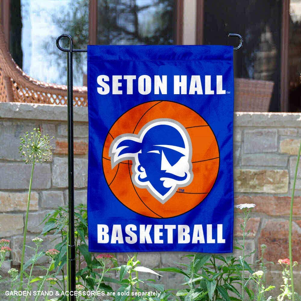 College Flags & Banners Co. Seton Hall Pirates Basketball Garden Flag