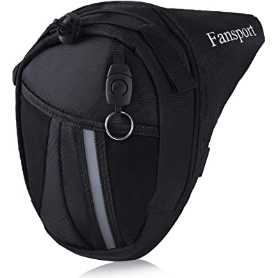 Fansport Bolso De La Pierna De Carreras De Motos Cintura Bolsa De La Gota Pack De Cintura para Montar A Caballo