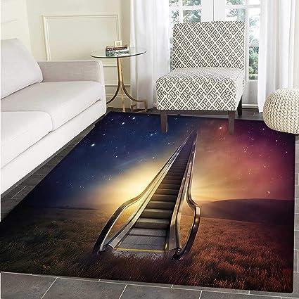 Amazon Com Surrealistic Customize Floor Mats For Home Mat Escalator