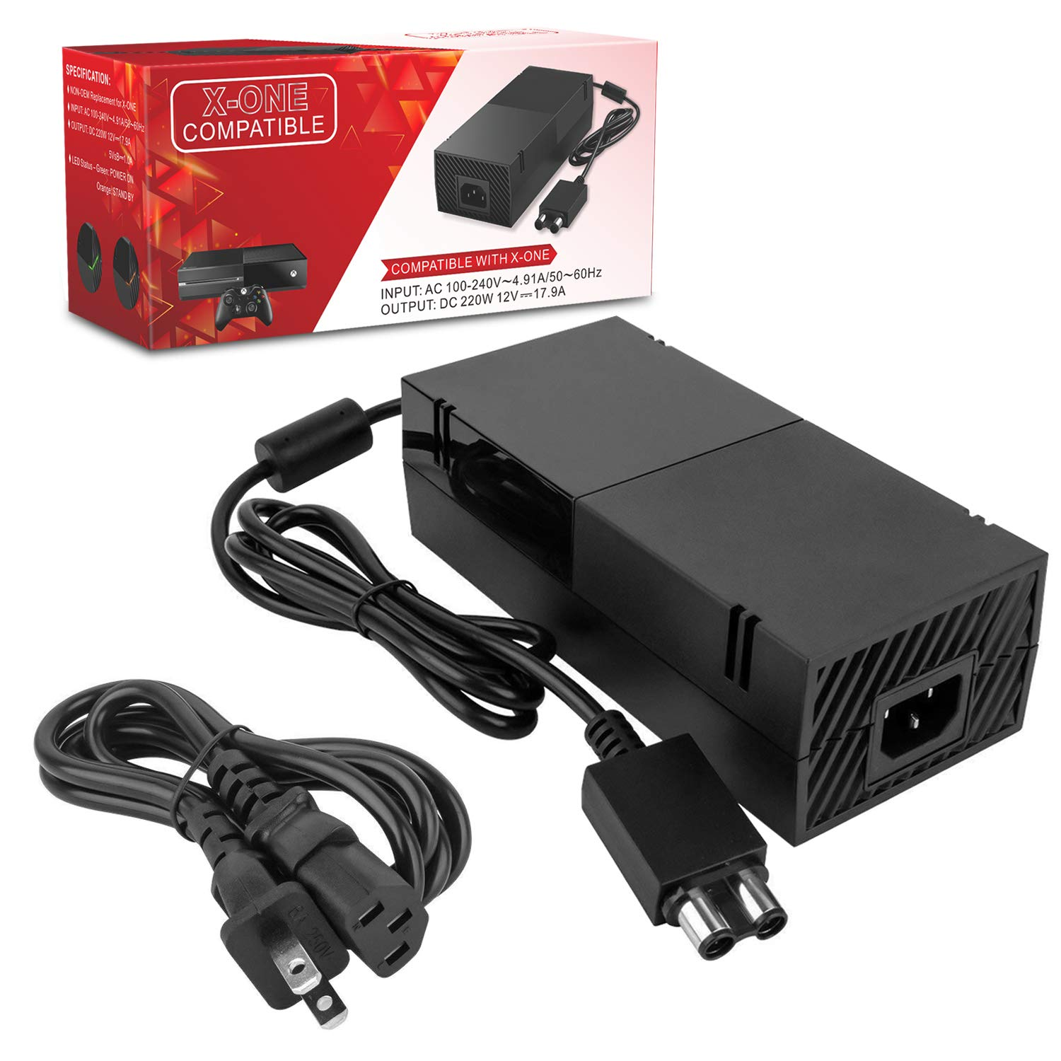 Picture Of Xbox 360 Power Supply To 12v Accessory Adapter
