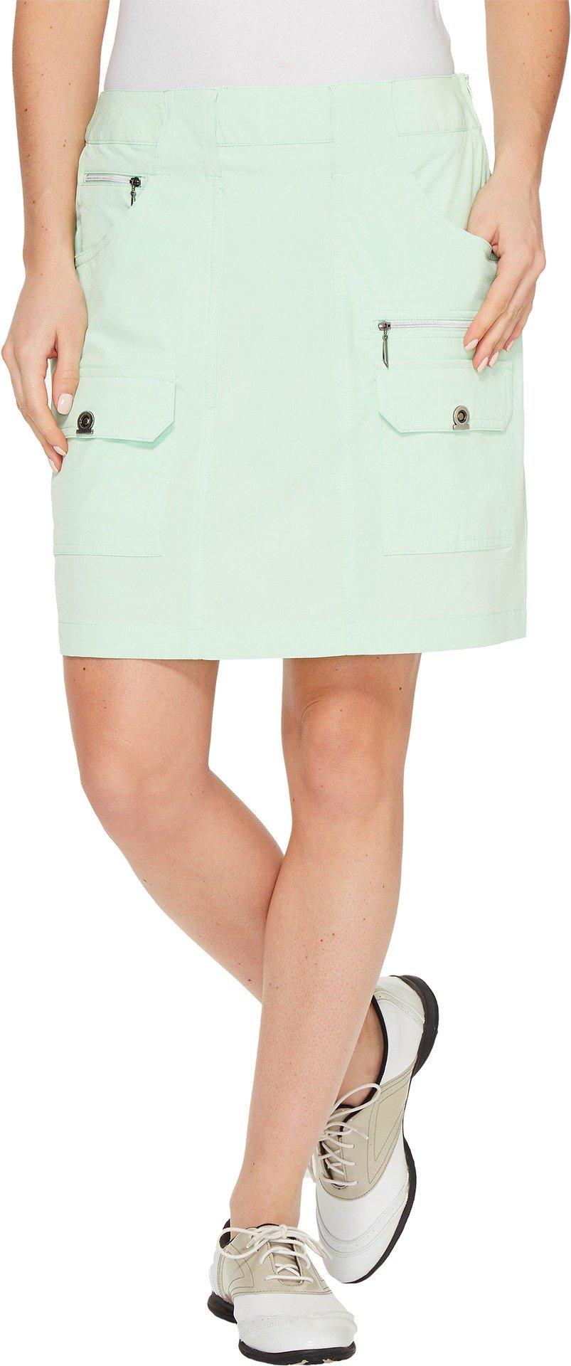 Jamie Sadock Women's Airwear Light Weight 18 in. Skort Mint Julep Skirt