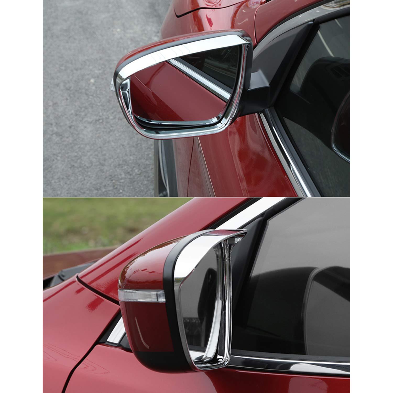 impermeable, para cejas, para X-Trail Qashqai Espejo retrovisor para coche LFOTPP