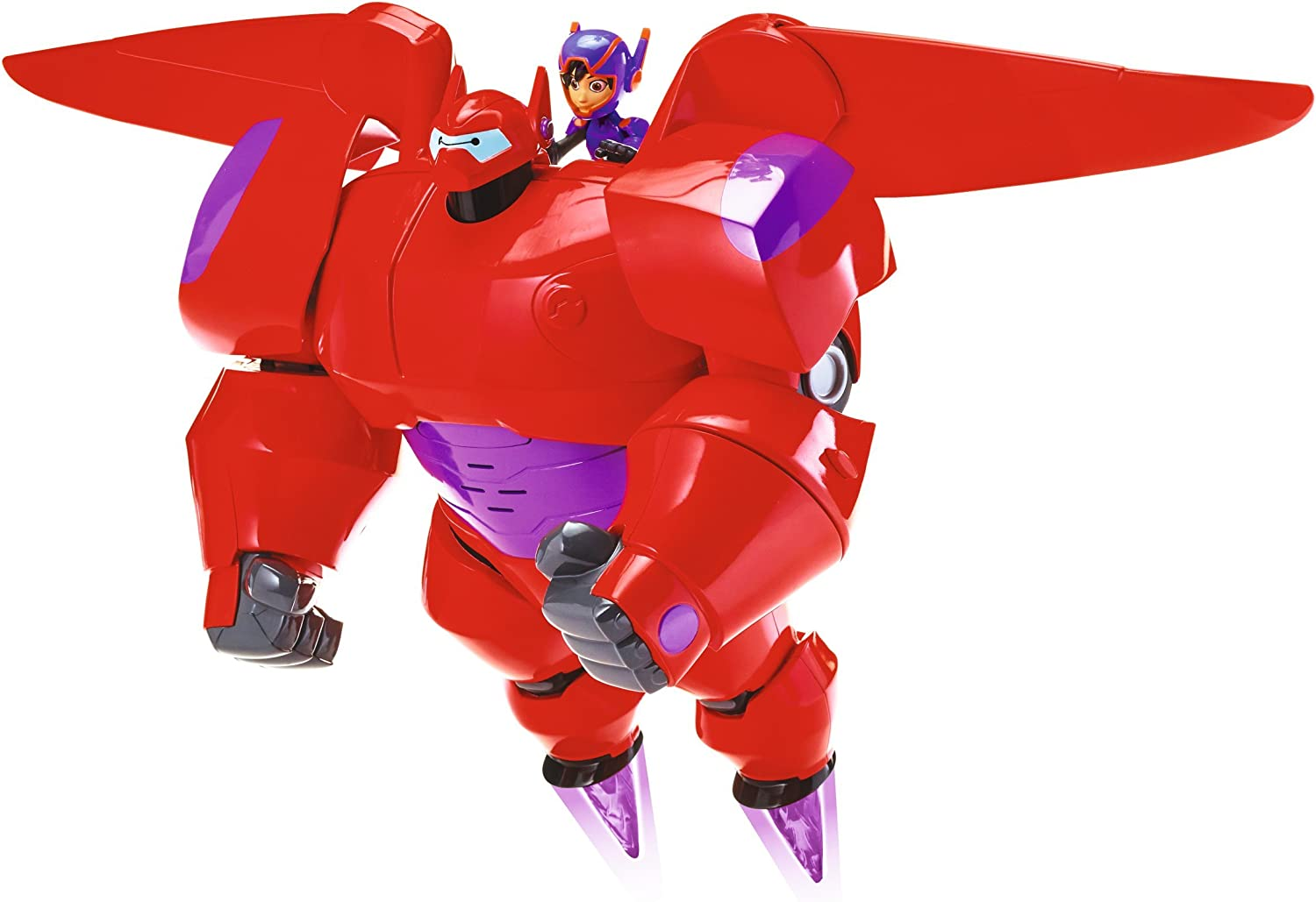Amazon Com Big Hero 6 The Series Flame Blast Flying Baymax Kids Toy Action Figure Baymax Toy Fist Rocket Fires Toys Games