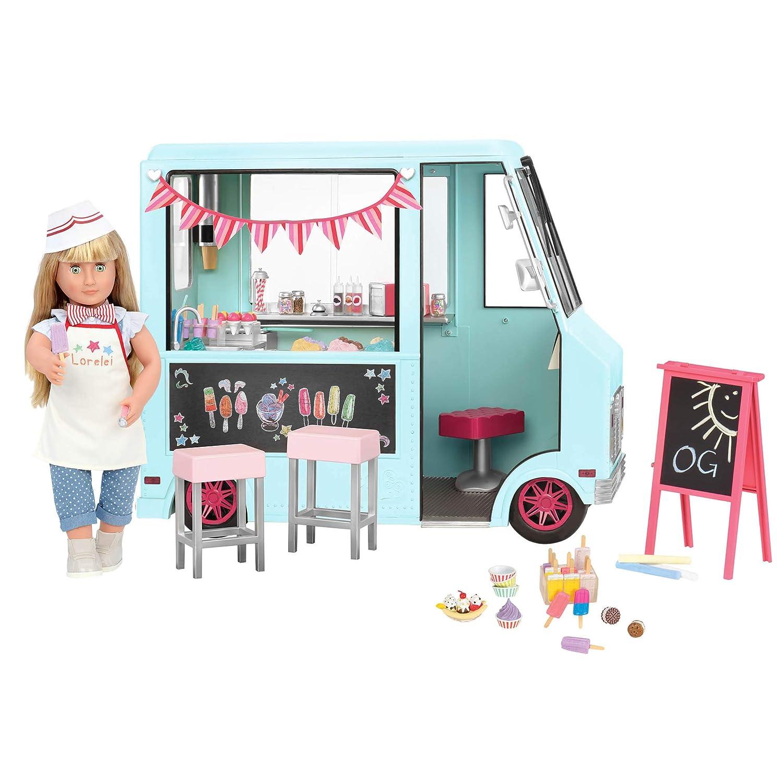 Amazon.es: Our Generation BD37252Z - Camión de helados para ...