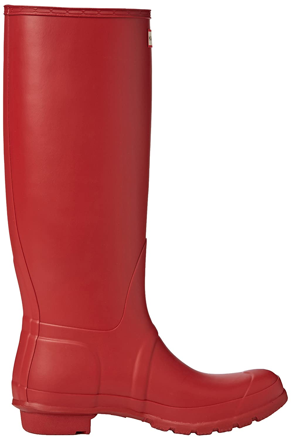 HUNTER Tall Botas de agua Mujer, Rojo (Military Red), 42 EU (8 UK): Amazon.es: Zapatos y complementos
