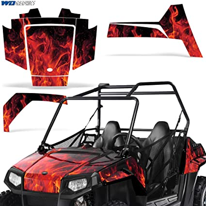 Amazon com: Polaris RZR170 UTV Graphic Kit Decal Sticker SxS