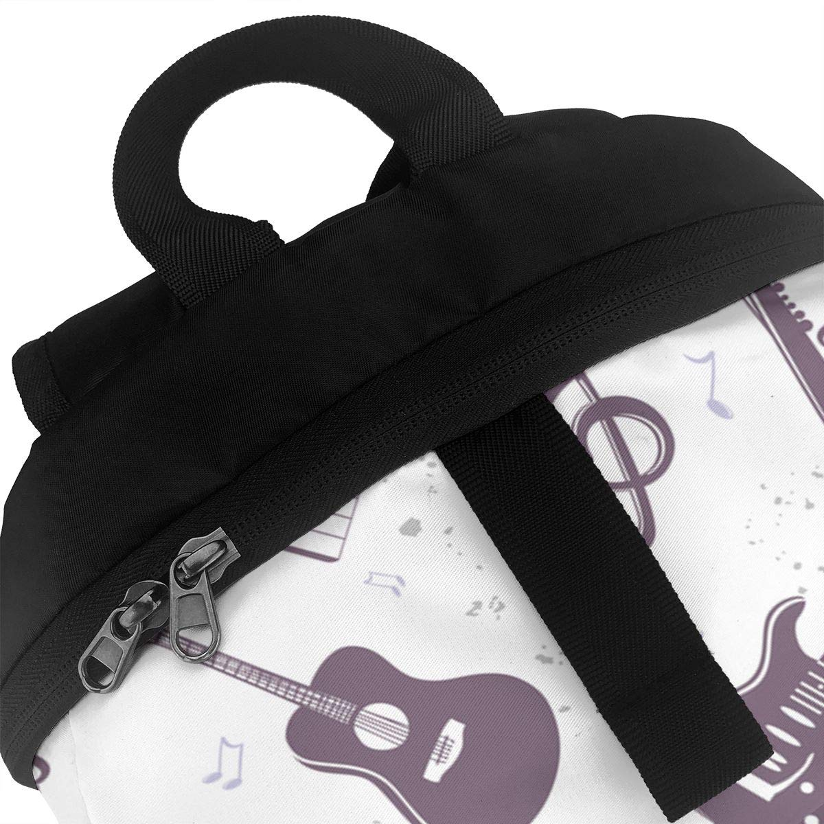 23a6f4713805 Amazon.com : Liumong Silhouette Musical Instruments Book Bag Holder ...
