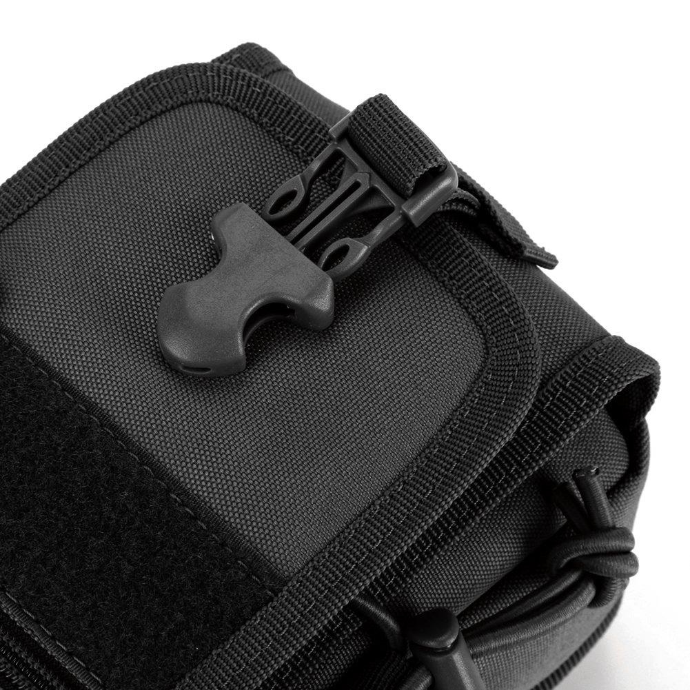 DCCN molle tattico borsa da cintura per Paintball Campeggio Escursioni Outdoor Sport
