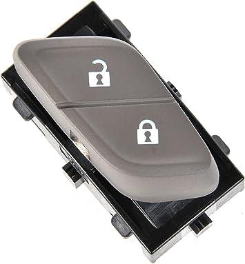 ACDelco 13423094 GM Original Equipment Dark Atmosphere Passenger Side Door Lock Switch