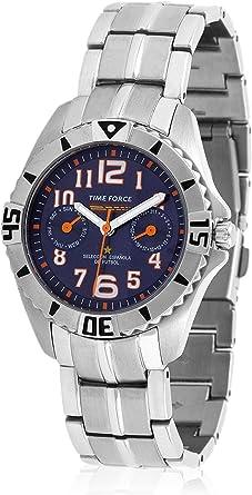 TIME FORCE TF-4131B03M Reloj para Chico, Multifunción, Selección ...