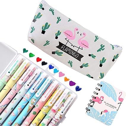 Lhasam Unicorn - Estuche de lápices para niñas, diseño de ...