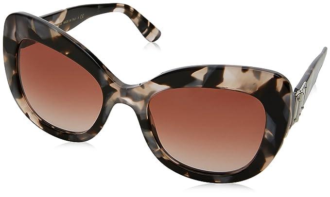 Dolce   Gabbana 0DG4308 312013, Montures de Lunettes Femme, Gris (Pearl  Grey Havana 3a0bab52a576