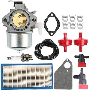 ATVATP 694526 Carburetor for BS 690119 690118 690115 690111 499029 Lawn Mower Tractor 10HP Engine Gererac PowerBoss 5500 Generator & 691643 Air Filter
